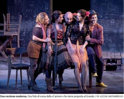 "GOLDSTEIN: ""OUR CARMEN IS MORE AGILE, DIRECT AND ANTI-RHETORIC"""